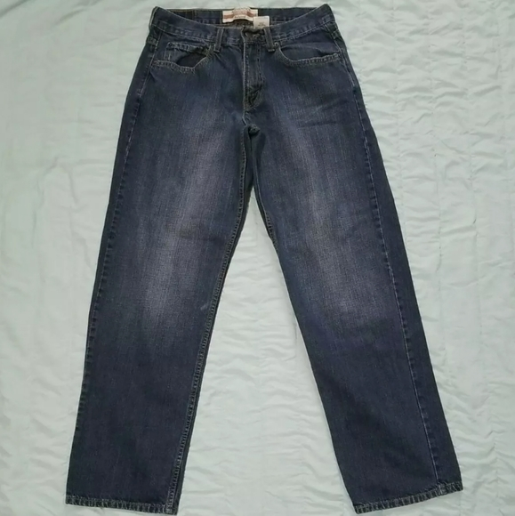 Signature Levi's Strauss & Co. Men's Relaxed Fit D